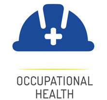 Occupational Health Button